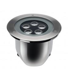 HYDROFLOOR MEDIUM STEEL AISI 316 PERFORMANCE LED 8W