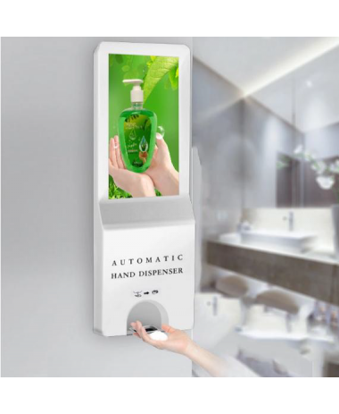 Hand Sanitizer Dispenser Signage