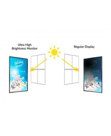 Afișaj digital suspendat, pentru vitrine